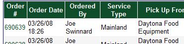 Order dates online